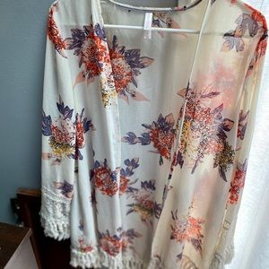 Floral Cover-up